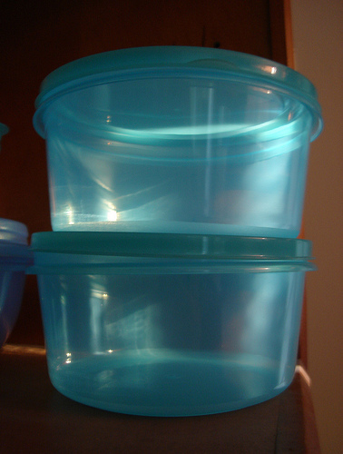 keeping ants out - tupperware - airtight container